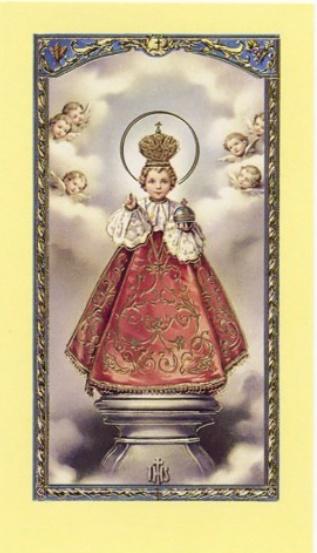 Image-prière Enfant Jésus