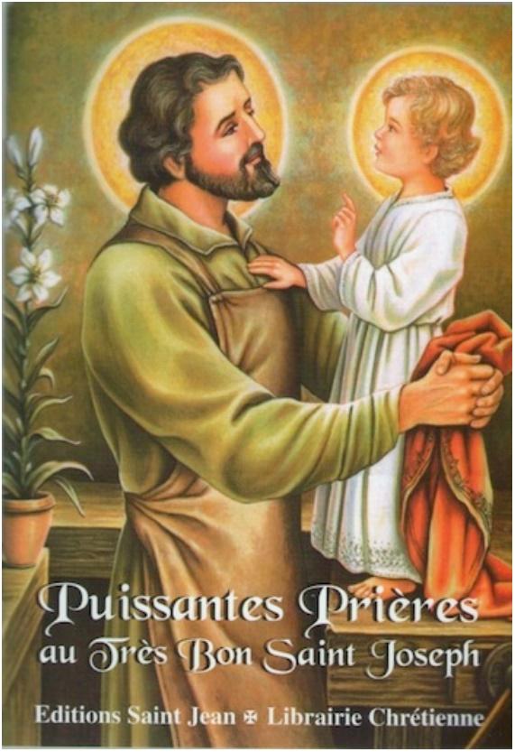 Livret de prières à Saint Joseph