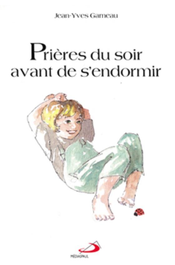 """Livre """"Prières avant de s'endormir"""" pour les enfants"""