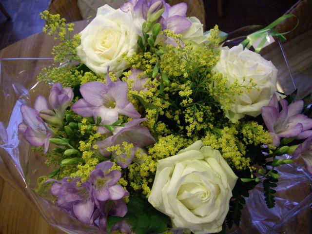 Un beau bouquet pour toi en ce jour...