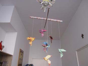 Mobile de colombes