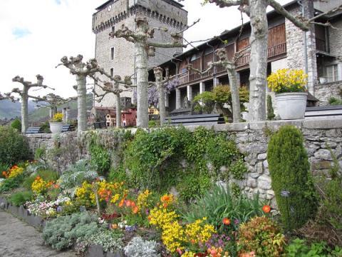 Jardin Château Lourdes