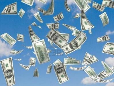 L'argent en pluie