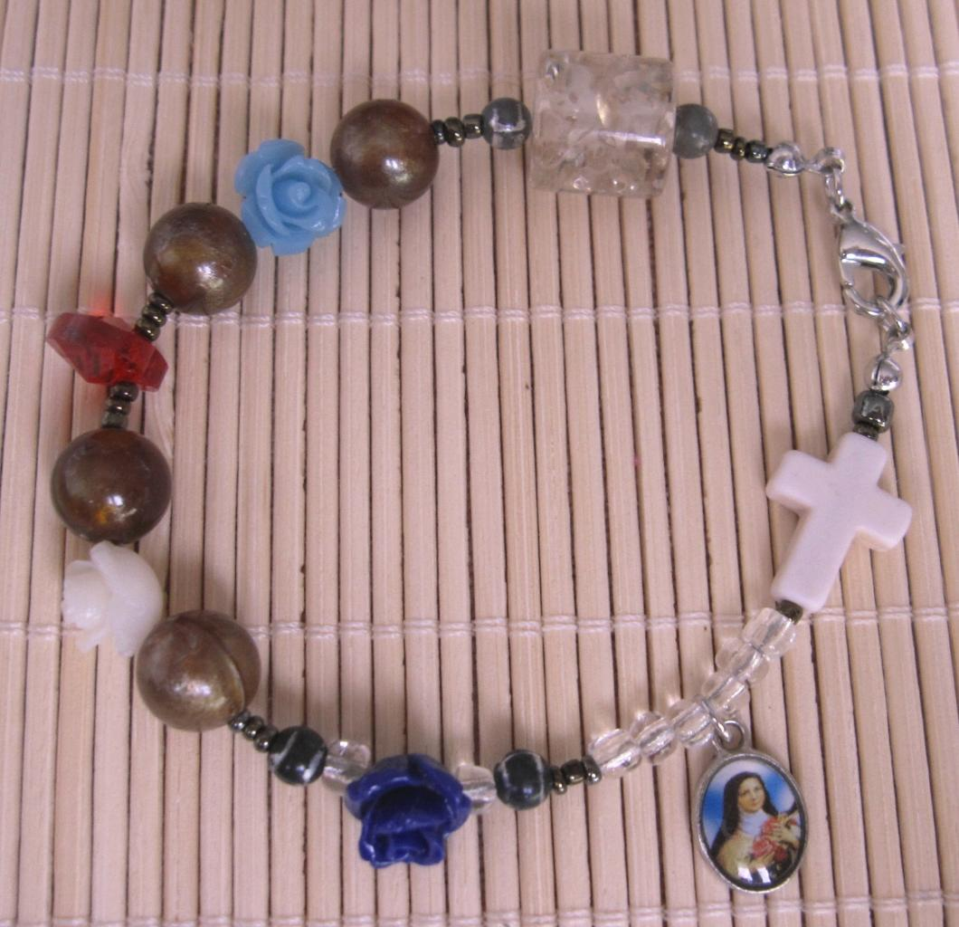 Bracelet Petite Thérèse (déjà vendu)