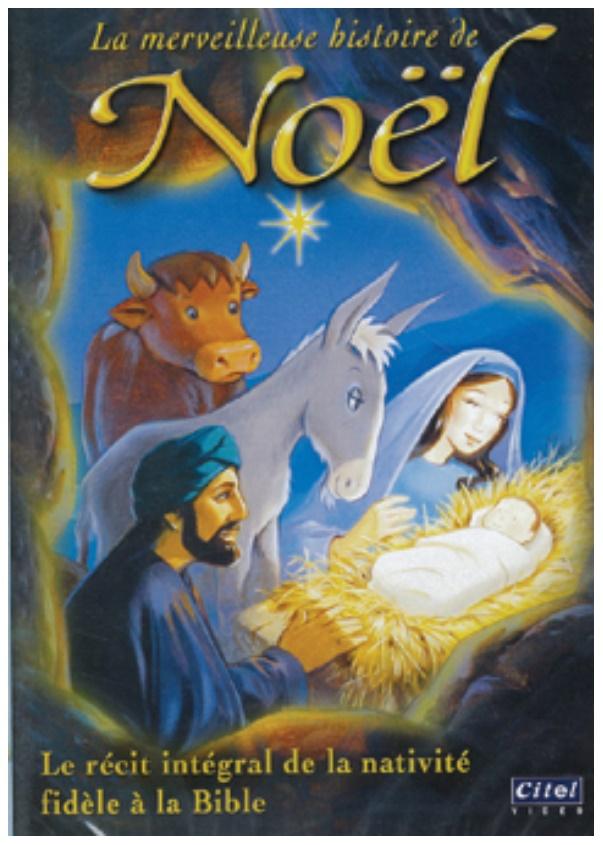 "DVD ""La merveilleuse histoire de Noël"""