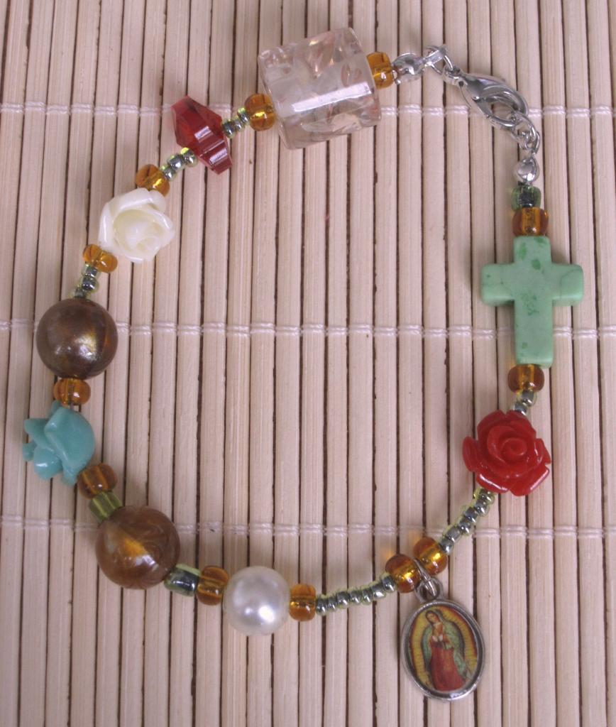 Bracelet Notre-Dame de Guadalupe, Mexique (déjà vendu)