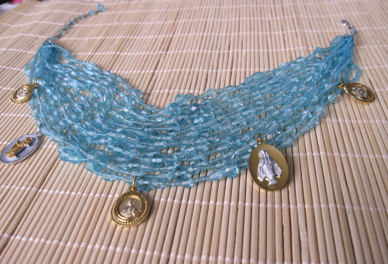 Collier Rivière bleue