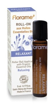 "Roll-on aux huiles essentielles : ""relaxation"""